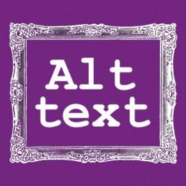 Alt text graphic