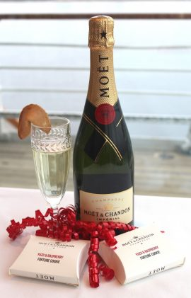 Moet and Chandon Chinese Fortune Cookie